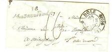 LETTRE PORT PAYE 88 MONT BRISON 4-7-1815 POUR ROANNE  POTHION INDICE 11