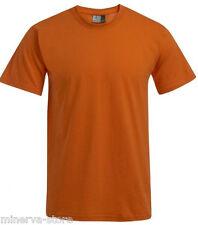 Premium T-Shirt Damen Herren �œbergrö�Ÿe Uni 21 Farben XS S M L XL XXL 3XL 4XL 5XL