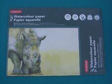 Derwent A3 Watercolour Paper Pad Landscape 300gsm