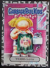 "GARBAGE PAIL KIDS FLASHBACK 2 ""TERRI CLOTH"" SILVER  #29b"