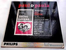 Paul & Paula  Sing For Young Lovers 1963  Philips PHM-200-078 Mono 33 rpm LP VG+