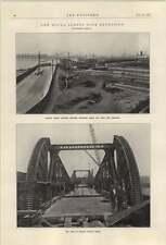 1921 Double Bascule Bridge Royal Albert Dock Extension