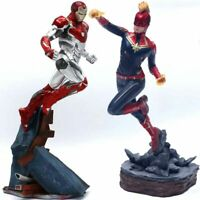 Captain Marvel Thanos ironman spiderman Deadpool Danvers Iron Studios Statue toy
