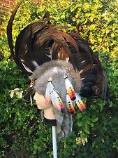 NEW HANDMADE QUALITY RED INDIAN NAVAJO NATIVE AMERICAN HEADDRESS