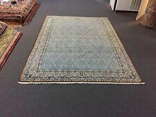 """On Sale Unique Fine Genuine Hand Knotted Vintage Area Rug Qoum Carpet 7'5""""x10'6& #034;"""
