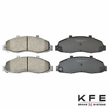 Premium Ceramic Disc Brake Pad FRONT NEW Set Shim Fits Ford F-150 KFE679