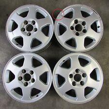 "Set 4 cerchi in lega Opel Zafira 15""x6J ET43 fori 5x110 usati (7192  80-7-B-1)"