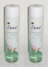 (1L=28,33€) 2x Dove Verwöhnendes Körperöl mit Pistazie und Magnolienduft 150ml