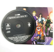 Registered Users Demo 06 - Sony PlayStation 1 PS1 One