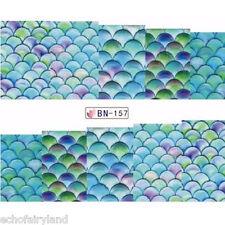 Nail Art Tools Bubble Water Dizzy Dye Liquid UV Gel Glue DIY Tool1 Sheet Fan