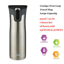 Contigo Westloop Autoseal Mug - 591ml Stainless Steel