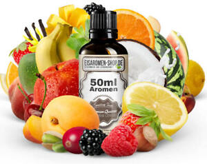 50ml Aroma Konzentrat Backaroma Lebensmittel Liquid, Eis von Apfel - Zuckerwatte