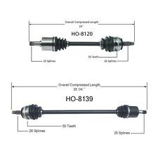 CIVIC 2001-2005 1.7 Front Left and Right Cv Shaft Axles with Manual Transmission