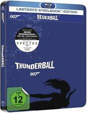 James Bond 007: FEUERBALL (Sean Connery) Blu-ray Disc, Steelbook NEU+OVP