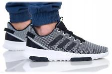 Adidas Cf Racer Hombre Para Correr Zapatillas Sneakers zapatos DA9305 Negro/Blanco