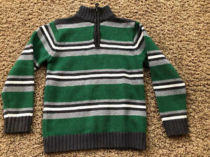 THE CHILDRENS PLACE Little Boy Sweater Size S 5 6 Years ~ Stripes