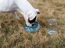 folding light weight dog bowl cuben fiber water bowl