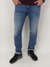 DIESEL Herren Jeans THAVAR - 0665H - Denim Blue - blau +Neu+