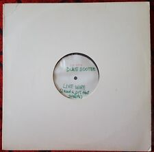 """DUKE BOOTEE *Live Wire (I Want A Girl That Sweats)* RARE TEST PRESS 12"""" Single"""