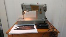 Vintage Singer 328J vintage sewing machine with pedal + manual