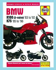 MAN1373 Haynes Workshop Manual BMW K K75 1985 to 1996 & K100 1983 to 1992