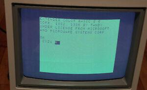 Tandy Color Computer Monitor Cm-8 Model 26-3215