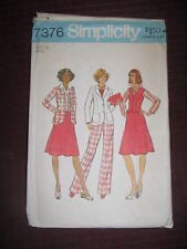 Simplicity Pattern Womens Suit
