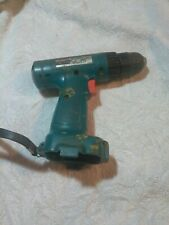 MAKITA 6222D CORDLES DRILL/ DRIVER 9.6V,-USED, bare tool only..WORKING