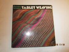 Tablet Weaving by Ann Sutton and Pat Holtom (1975, Hardcover)