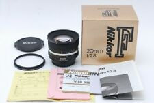 """Rare"" ""Unused"" Nikon Ai-s Nikkor 20mm F/2.8 Wide Angle MF Lens From Japan B383"