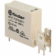 Finder 45.71.7.012.0311 12V Relay 16A (Faston) 45.71