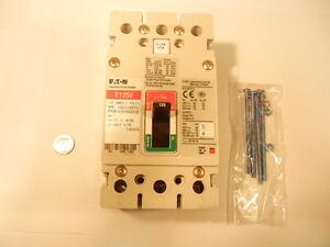 Cutler-Hammer: EGE3125FFG - Circuit Breaker, 3 Pole, 480VAC, 125A, 25K AIC, E125