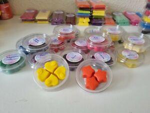 Massive Bundle Wax Melt 20  Sample Pots 70 melts Highly scented