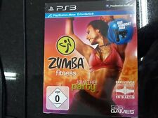 Zumba Fitness - Join the Party  inkl. Fitness-Gürtel Playstation 3 Ps3 NEU