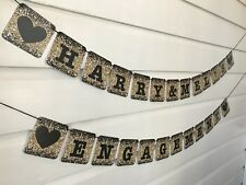 Engagement Party Decorations Personalised Bunting Banner Sign Custom Made