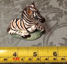 Basil Matthews vintage English art pottery figure hand crafted Zebra foal.