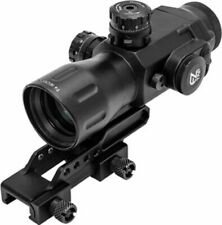 Leapers UTG Compact Prismatic 4X32 T4 Scope, 36-Color, Etched Glass: SCP-T4IECDQ