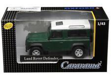 Cararama 1/43 Land Rover Defender Diecast Model Car Dark Green (4-55260)