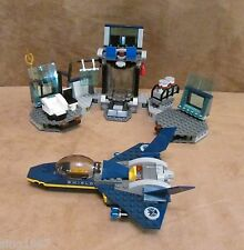 6868 Lego NO MINIFIGURES Hulk's Helicarrier Breakout Avengers Super Hero