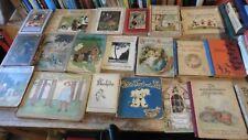 Konvolut alten Kinder / Bilderbücher ca. 1900
