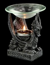 Aroma Lamp Laying Dragon Small - Figurine Deco Gothic Fantasy