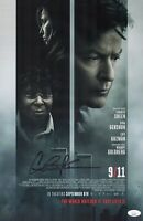 CHARLIE SHEEN Hand Signed 11x17 Poster 9/11 In Person Autograph JSA COA Cert