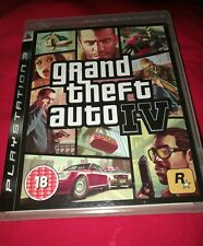 Grand Theft Auto IV Sony Playstation 3 PS3 Game UK PAL Rockstar Games