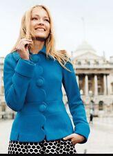Boden Alice Jacket Coat Blazer Wool Black Size 18