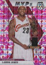 Lebron James - 2019/20 Mosaic Basketball Sammelkarte, Pink Camo (Prizm) SP