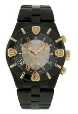 Roberto Cavalli R7253616045 Diamond Time Men's Black Chronograph Date Watch