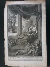 1736 BERNARD PICART Engraving Daniel Interpret's Nebuchadnezzar's Dream