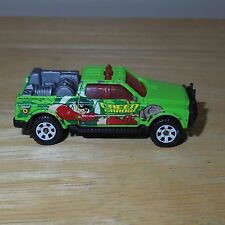 2002 Matchbox Emergency Rescue 4x4 Diecast Truck - Green Arrow - Loose - Used/GC