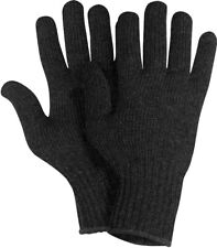 Rothco Military Wool Glove Liners - Black Small