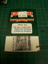4mm Markits Balance Weights & Axle-Nut Covers For GWR  King or Castle class